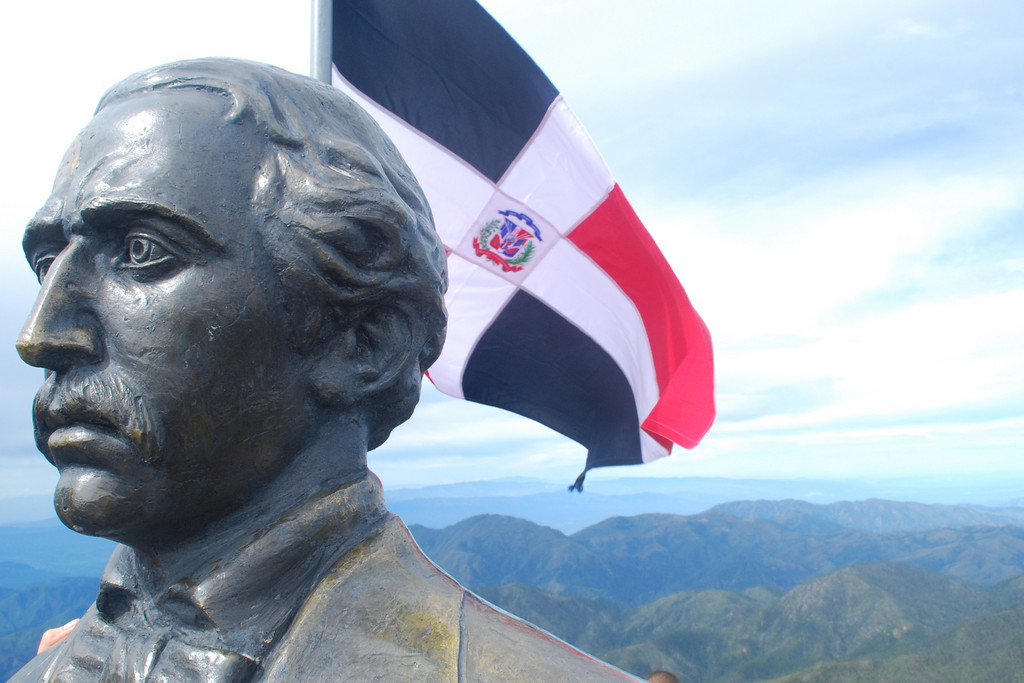 Juan Pablo Duarte statue, Pico Duarte (credit: Media Photos Dominican Republic Tourism Board)