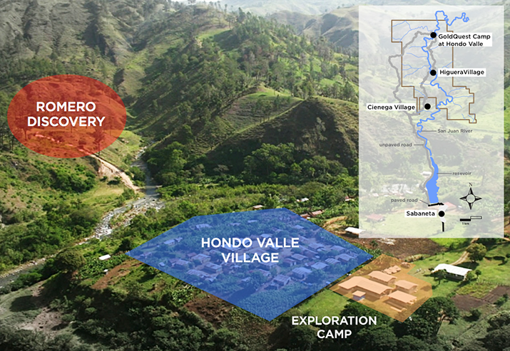 Romero Project and base camp in Hondo Valle