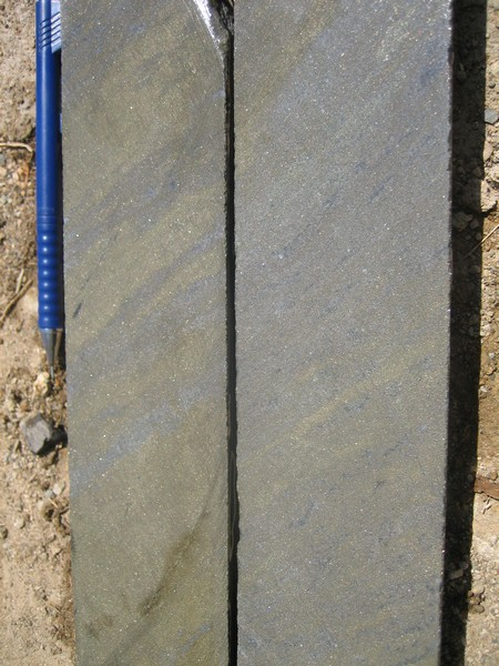 Typical Las Animas massive sulphide